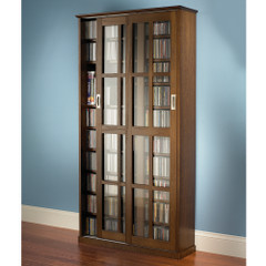 The Sliding Door 1050 CD/504 DVD Library