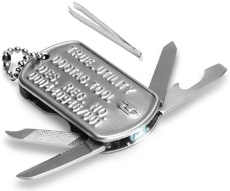 Dog Tag Knife Tool [lookin' sharp]