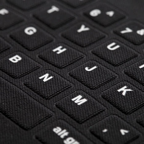 Fabric Bluetooth Keyboard [Raised Keys]