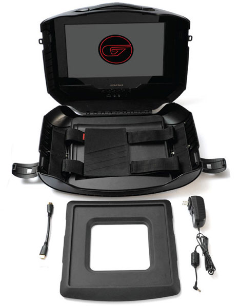 GAEMS G155 Mobile Gaming System Turns Any XBOX 360 Or PS3 ...