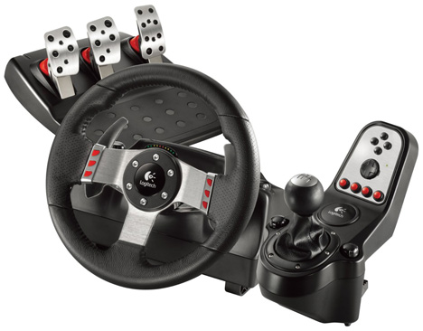 Logitech G27 Racing Wheel [ready to roll]