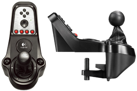 Logitech G27 Racing Wheel [six-speed shifter]