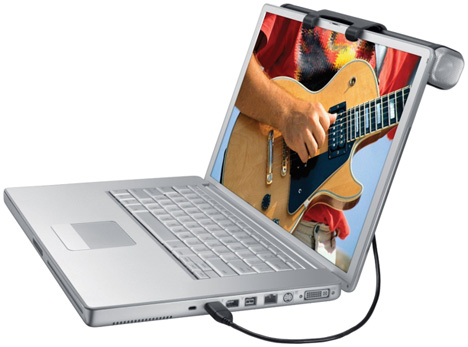 Logitech USB Laptop Speaker Z305 [From The Front]