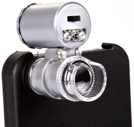 Mini Microscope for iPhone 4 [time for your close-up]