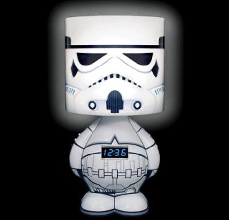Stormtrooper Alarm Clock Lamp