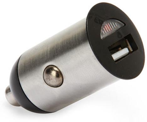 Tiny USB Car Power Adapter [Close Up]