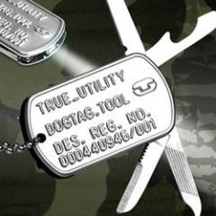 Dog Tag Knife Tool