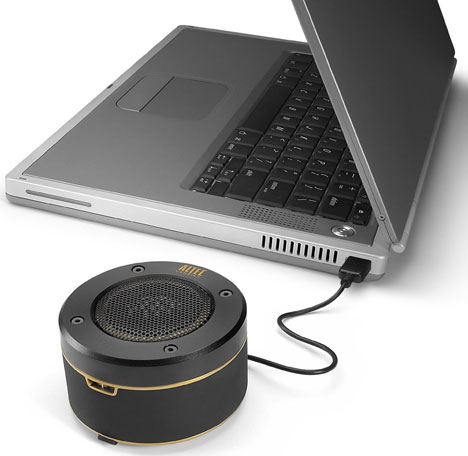 Altec Lansing ORBIT Ultra-Portable Speaker [can't be BEAT for on-the-go audio]