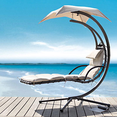Dream Chair Patio Chaise Lounge With Umbrella Lets You