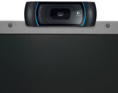 Logitech 1080p Webcam Pro C910 [shoot Full HD from your laptop]