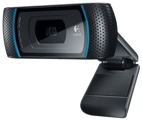 Logitech 1080p Webcam Pro C910 [shoot with clarity...whatever your angle]