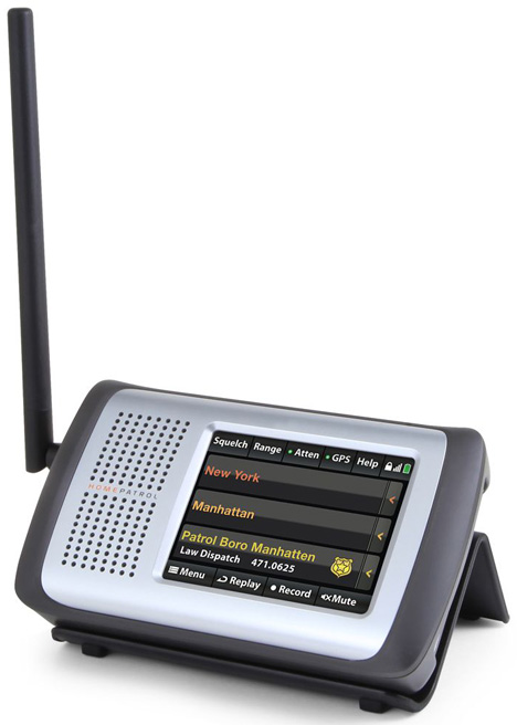 Only Automatic Programming Radio Scanner [be the first on the scene]
