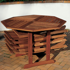 Patio Table And Fold Away Chairs