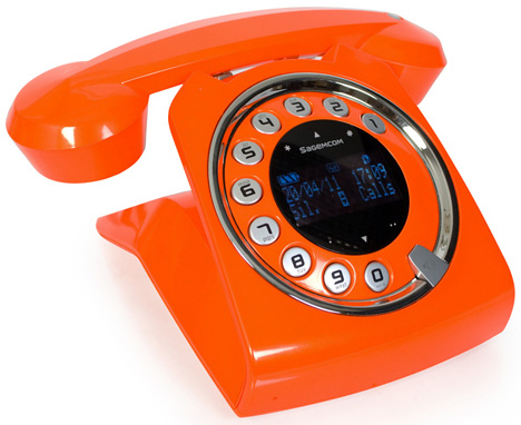 Sagemcom Sixty Cordless Telephone [who doesn't miss their old rotary dialer?]