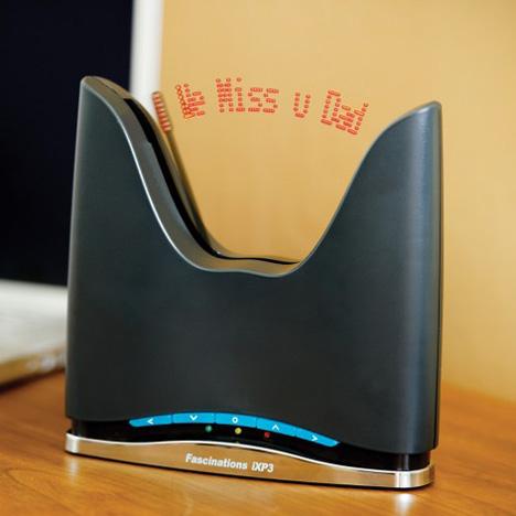 iXP3 Internet Message Clock [tweet time]
