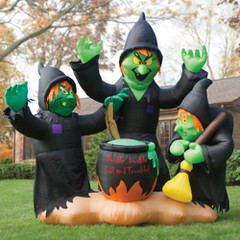 10-Foot Macbeth's Witches Halloween Inflatable