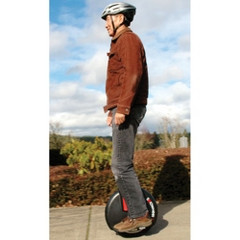 The Gyroscopic Electric Unicycle