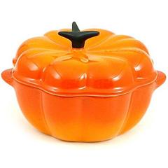 Le Creuset 2.25-Quart Pumpkin Casserole in Flame
